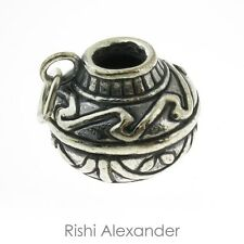 925 Sterling Silver Native American Pottery Charm Made in USA