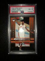 2003 Upper Deck #1 Lebron James Rookie Exclusives RC Cleveland Cavaliers  NM-MT