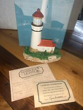 Cape Blanco Oregon 109 Harbour Lights 1991 Lighthouse W/ Coa Limited Edition Nb