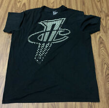 Men Nike Dri-Fit 2Xl Athletic Cut Black Top Shirt Crossfit Great Condition