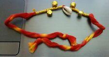 Amulet LUCKY indù Mauli PENZOLONI CAMPANE kaudi Conchiglia shankh Protezione Talismano