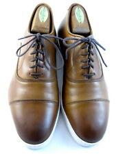 "Allen Edmonds ""PARK AVENUE"" Leather Oxford Dress Sneakers 7 D Walnut (650)"