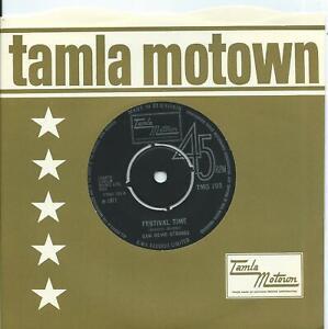 San Remo Strings:Festival time/All turned on@UK Tamla Motown:TMG 795