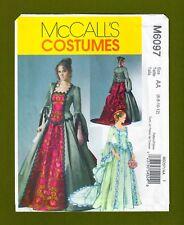 McCalls Sewing Pattern 6097~Victorian Era Ball Gown Costume~Train (6-12)