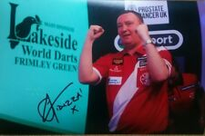 Lakeside Darts Glen Durrant 2018 World Champion, hand signed in person A4 photo.