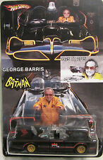 Hot Wheels CUSTOM '66 TV SERIES BATMOBILE George Barris Tribute RR LTD #17/25!
