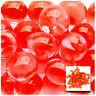 Red Vase Filler Beads 4oz Bag Makes 3 Gallons - Water Storing Gel