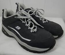 Skechers Shoes: Women's Navy/White Steel Toe EH Shoes 76379 work size 11