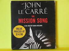The Mission Song by John le Carr� (2008, CD, Abridged)