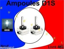 2 AMPOULES DE RECHANGE D1S D1R 35W 8000k NEUF RENAULT AUDI BMW MERCEDES QUALITE