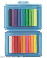 Kinder Knete Knetstangen in Box Knete Farbe sortiert Schulknete Bastelknete Neon