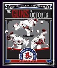 Boston Red Sox  Poster John Lester Josh Beckett Dice K