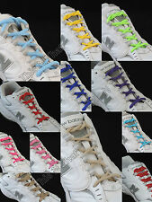 """BUY 1 GET 1 35% OFF - Oval 1/4"""" Athletic Shoe Laces String Sport Tennis Sneaker"""