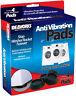 4X Rubber Anti Vibration Pads Washer Dryer Machines Reduce Noise Walking