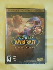*SEALED* World of WarCraft Starter Edition PC Game WIN MAC DVD 2 Disc Set 2011