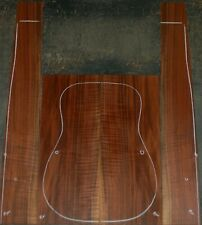 Curly Black Walnut Acoustic Guitar Back And Side Sets
