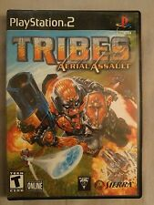 Tribes: Aerial Assault Game (Sony PlayStation 2, 2002) Free Shipping Complete