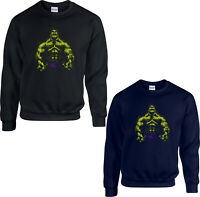 Hulk Jumper, The Incredible Hulk Avengers Superhero Marvel Comics Adult kids Top