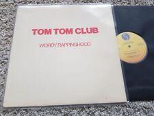 "Tom TOM CLUB-Wordy Rappinghood 12"" vinile discoteca US PROMO REMIX"