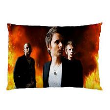 """New!!! Muse English Rock Band pillow case cover 30""""x 20"""" special edition # 1"""