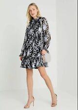 Ted Baker Florae Graceful Ruffle Skater Dress UK 14 Size 4