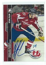 Ryan Pilon Signed 2013/14 Heroes and Prospects Card #62