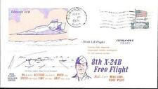 US Space Cover 1974. X-24B Lifting Body Flight 36. Mike Love. Shuttle Tests