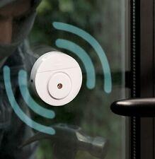 Alarma inteligente Portatil de ventanta con sensor de movimiento,adhesiva,pilas