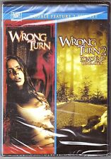 2-Movie Wrong Turn 1 & 2 - DVD Double Feature BRAND NEW