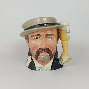 Royal Doulton Character Jug Odd Size - Wild Bill Hickock D6736 – 431 RD