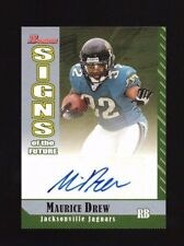 Maurice Jones-Drew 2006 Bowman Signs of the Future Auto Card Jaguars RC Rookie