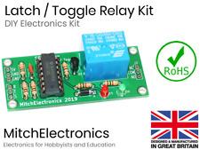 Latch / Toggle Relay - Electronics / Electronic DIY Kit