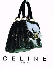 PUBLICITE ADVERTISING 084  1996  CELINE  boutique maroquinerie sacs