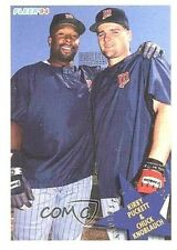 Kirby Puckett/Chuck Knoblauch~1994 Fleer Baseball Card#712(Minnesota Twin Peaks)