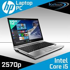 Fast HP EliteBook 2570p Core i5 2.80GHz 16GB 480GB SSD Laptop Windows 10 Home