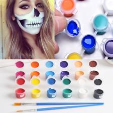 Art 12 Colors Body Face Paint Box Makeup Painting Pigment Fancy Party Dress Up