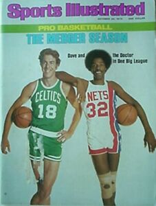 1976 SPORTS ILLUSTRATED W/ JULIUS ERVING & DAVE COWENS COVER