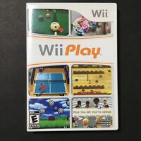 Wii Play - Nintendo Wii - Complete in Case w/ Manual - Tested & Working