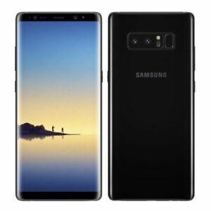 Samsung Galaxy Note 8 SM-N950F - 64 Go - Noir Carbone (Désimlocké) NEUF