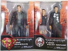 "T-800 & T-1000 Terminator Genisys 7"" inch Action Figure Set of 2 Neca 2015"