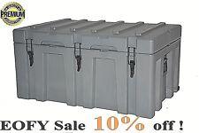 150L Heavy Duty Rotomolded Poly Storage Case Cargo Box Plastic ToolBox Trade Box