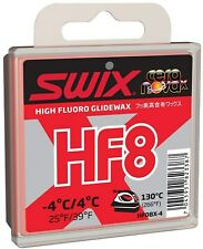 Swix Hf08x Wax Red 25 to 39f 40g