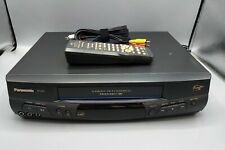 New listing Panasonic Vcr Plus - Model Pv-845 - Tested - W/ Remote & Av Cable