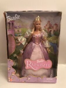 2001 Barbie Rapunzel Doll NRFB #55532