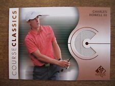 2003 SP Authentic Charles Howell III Course Classics Shirt #CC-CH