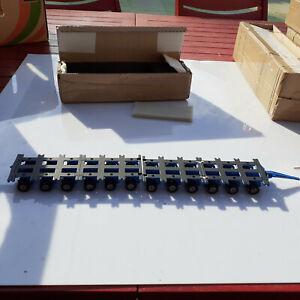 CORGI 12 essieux en deux modules de 2 parties bleu