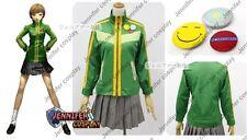 Persona 4 Chie Satonaka Cosplay Costume Any Sizes