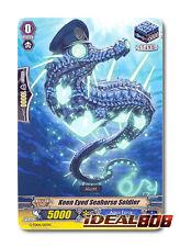 Cardfight Vanguard  x 4 Keen Eyed Seahorse Soldier - G-TD04/017EN - TD (common v