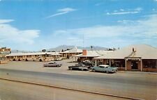 Postcard NM Deming Bel Shore Motel Us Hwy 70 80 Old VIntage Cars New Mexico PC
