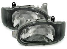 Scheinwerfer Set in Schwarz für FORD ESCORT MK7 ab 2/95- inkl. Cabrio / Classic